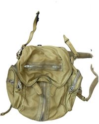 Alexander Wang Marti Leather Backpack - Green