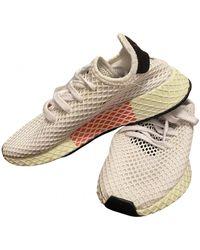 adidas Deerupt Runner Cloth Trainers - White