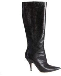 9a5b4ad0019 Black Leather
