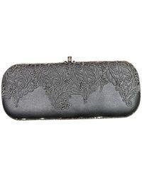 Rene Caovilla Leather Handbag - Black