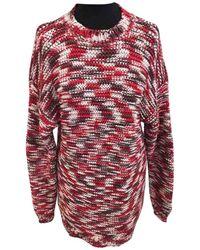 Stella McCartney Jersey en algodón rojo