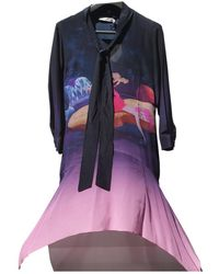 Mary Katrantzou Vestido en seda multicolor