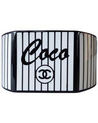Chanel Plastic - Black