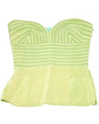 Versace - Pre-owned Silk Corset - Lyst
