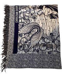 Dior Pañuelos en lana multicolor