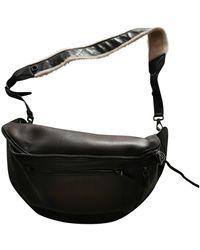 Ferragamo Leather Crossbody Bag - Black