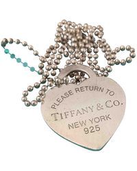 Tiffany & Co. Return To Tiffany Silber Colliers - Mehrfarbig