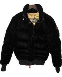 Pyrenex Doudoune en velours - Noir