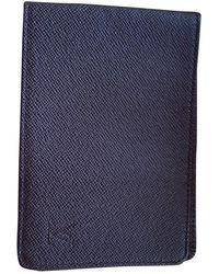 Louis Vuitton Leinen Kleinlederwaren - Braun