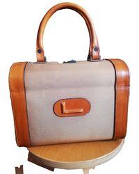 Lancel Leinen Handtaschen - Mehrfarbig
