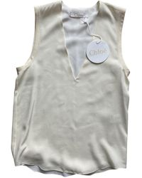 Chloé Silk Camisole - Grey