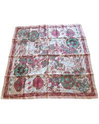 Carven Multicolour Silk Scarves