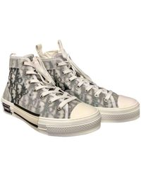Dior Navy Plastic Sneakers - Multicolor