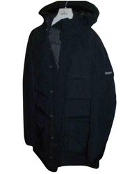 Woolrich Cappotto in poliestere nero