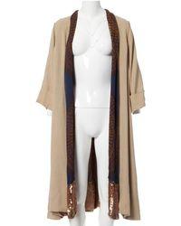 Louis Vuitton Linen Coat - Natural