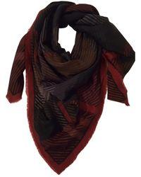 Dior \n Red Wool Scarf
