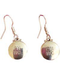 Carolina Herrera Crystal Earrings - Metallic