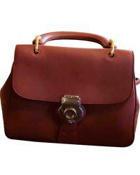 Burberry DK 88 Leder Handtaschen - Mehrfarbig