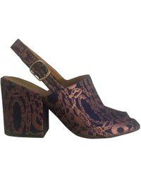 Dries Van Noten - Pre-owned Cloth Sandals - Lyst