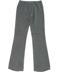 John Galliano - Vintage Grey Wool Trousers - Lyst