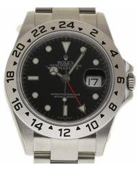 Rolex Explorer Ii 42mm Black Steel Watch