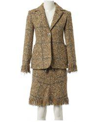 Sonia Rykiel Tweed kostüm - Braun