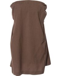 Marni - Brown Wool Skirt - Lyst