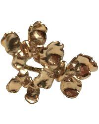 Dior - Bagues en Plaqué or Doré - Lyst