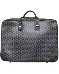 Goyard Cloth Travel Bag - Grey