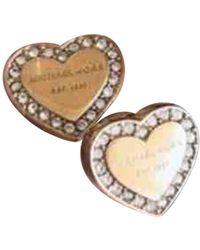 Michael Kors Pink Gold Earring - Metallic
