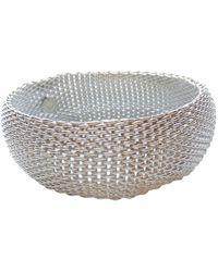 Tiffany & Co. - Pre-owned Tiffany Somerset Silver Bracelet - Lyst