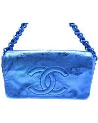 Chanel - Pre-owned Leather Crossbody Bag - Lyst