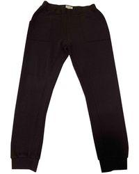 Zadig & Voltaire Black Cotton Trousers