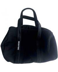 Zadig & Voltaire Cloth Travel Bag - Black