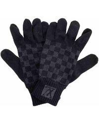 Louis Vuitton Wool Gloves - Black