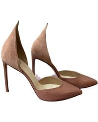 Francesco Russo Leather Heels - Pink