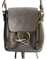 Chloé Faye Backpack - Multicolor