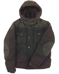 Moncler - Black Wool Jacket - Lyst