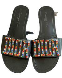 Dior Dio(r)evolution Leder Pantoffeln - Mehrfarbig