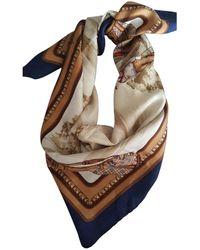 Burberry Pañuelos en seda multicolor