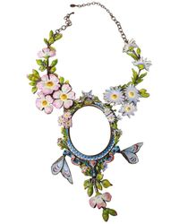 Dior Other Metal Necklaces - Metallic
