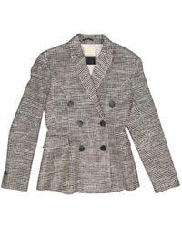By Malene Birger - Black Cotton Jacket - Lyst