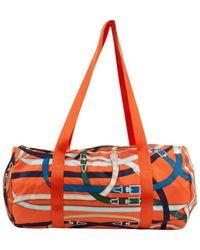 Hermès Cloth Handbag - Orange