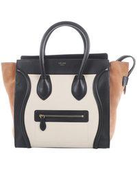 Céline luggage Beige Leather Handbag - Natural