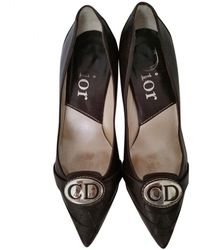 Dior Brown Leather Heels