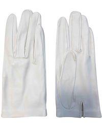 Hermès Leder Handschuhe - Weiß