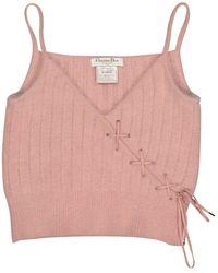 Dior Pink Wool Top