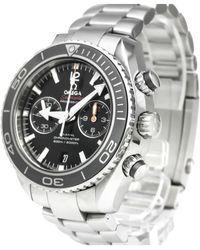 Omega Reloj en acero plateado Seamaster - Metálico