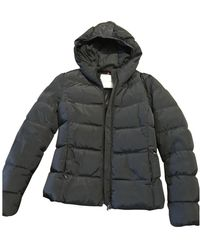 Moncler - Blue Synthetic Coats - Lyst