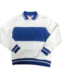 Supreme Blue Cotton Knitwear & Sweatshirt